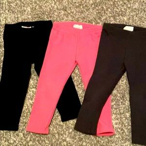 3- 2T fleece leggings